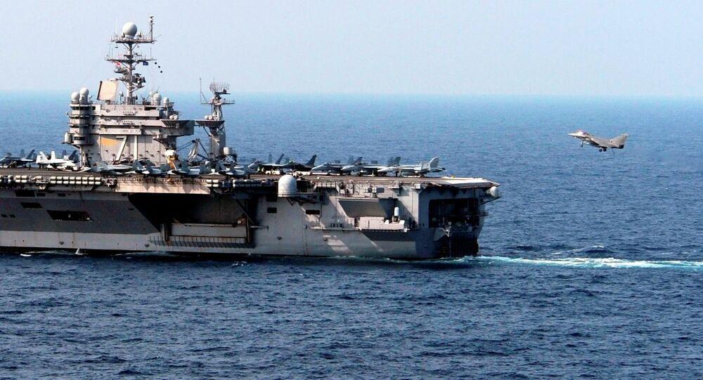USS Theodore Roosevelt uçak gemisi