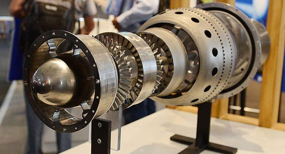 Üç boyutlu yazıcı ile jet motoru