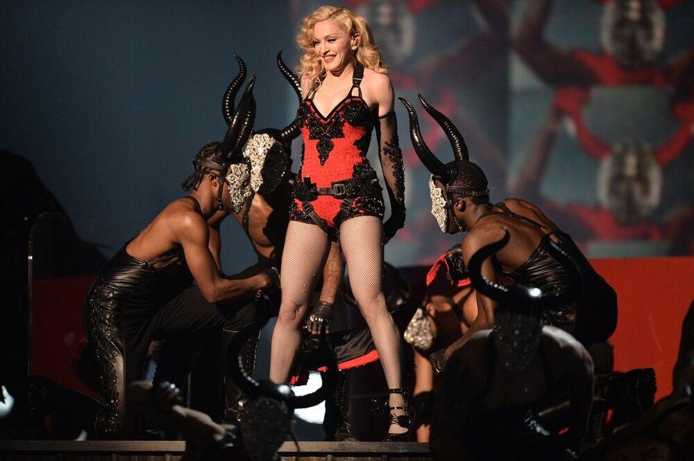 ABD'li şarkıcı Madonna