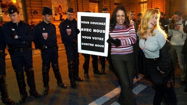 Fransa'da seks işçilerinin eylemi - Sputnik Türkiye