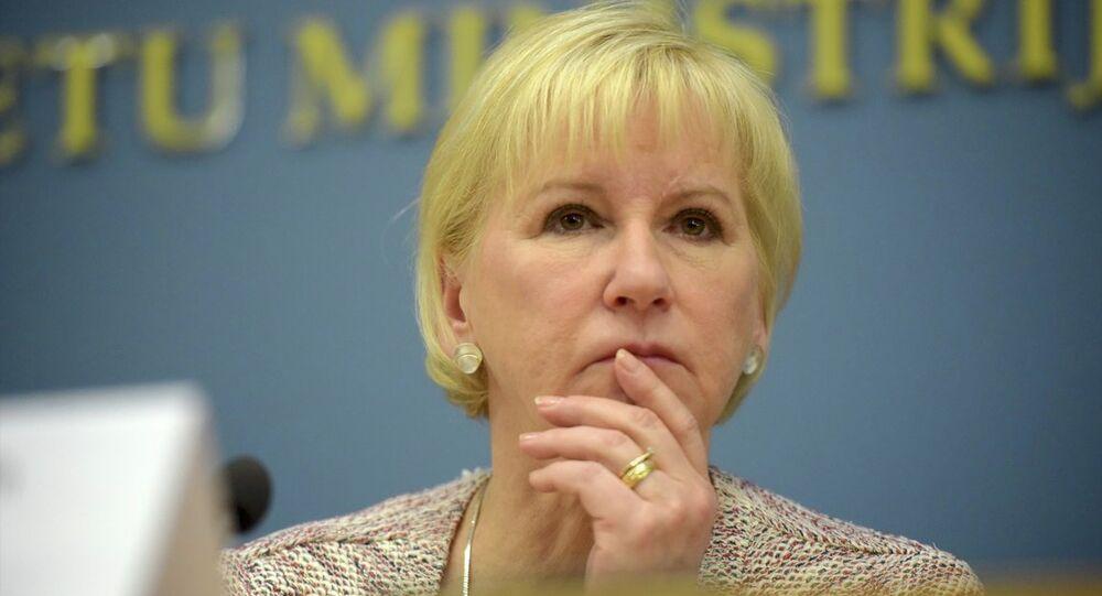 İsveç Dışişleri Bakanı Margot Wallström