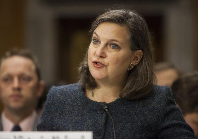 ABD Dışişleri Bakanlığı Avrupa ve Avrasya İşlerinden Sorumlu Bakan Yardımcısı Victoria Nuland
