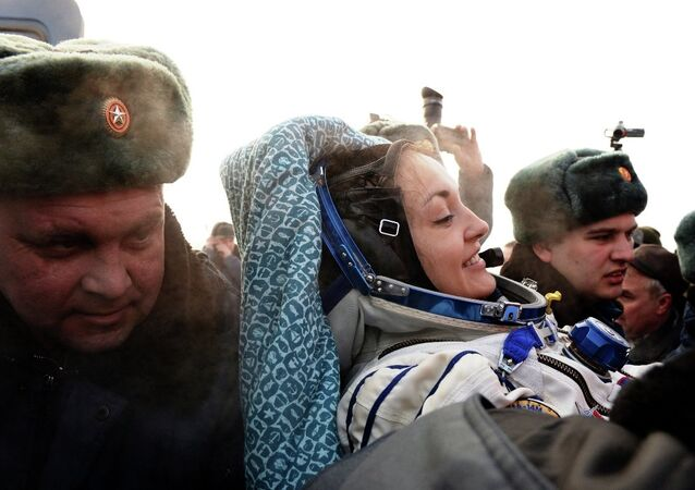 Rus kadın kozmonot Elena Serova