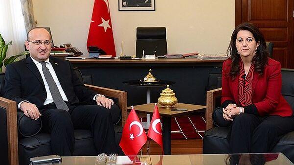 Pervin Buldan - Yalçın Akdoğan - Sputnik Türkiye