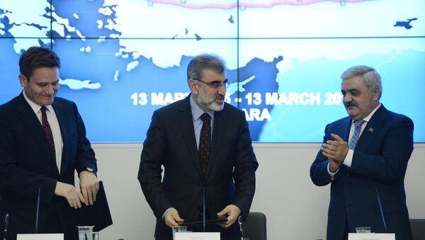 TANAP Ortaklar Anlaşması imza töreni - Sputnik Türkiye