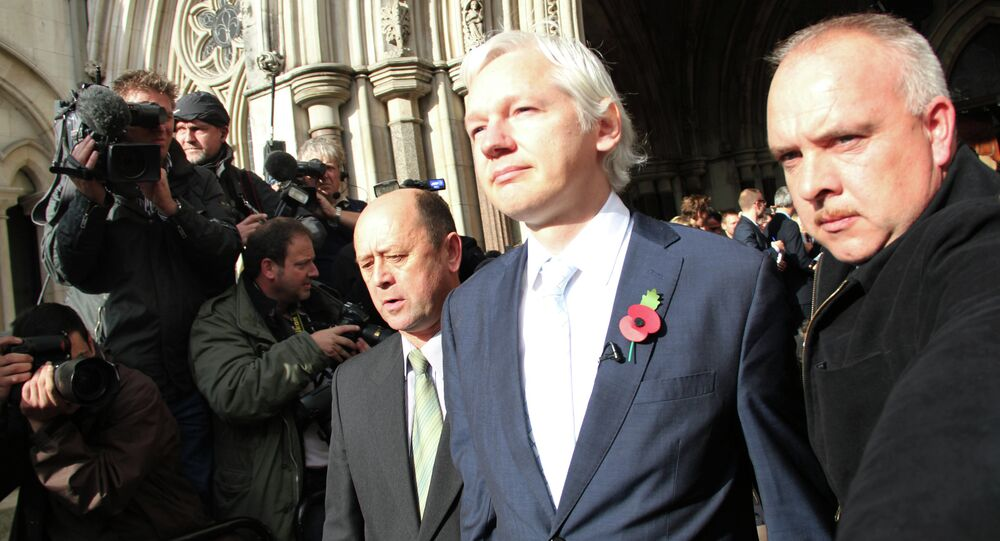 Wikileaks internet sitesinin kurucusu Julian Assange