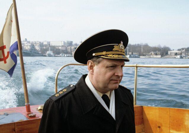 Rusya Karadeniz Filosu eski komutanı Amiral İgor Kasatonov