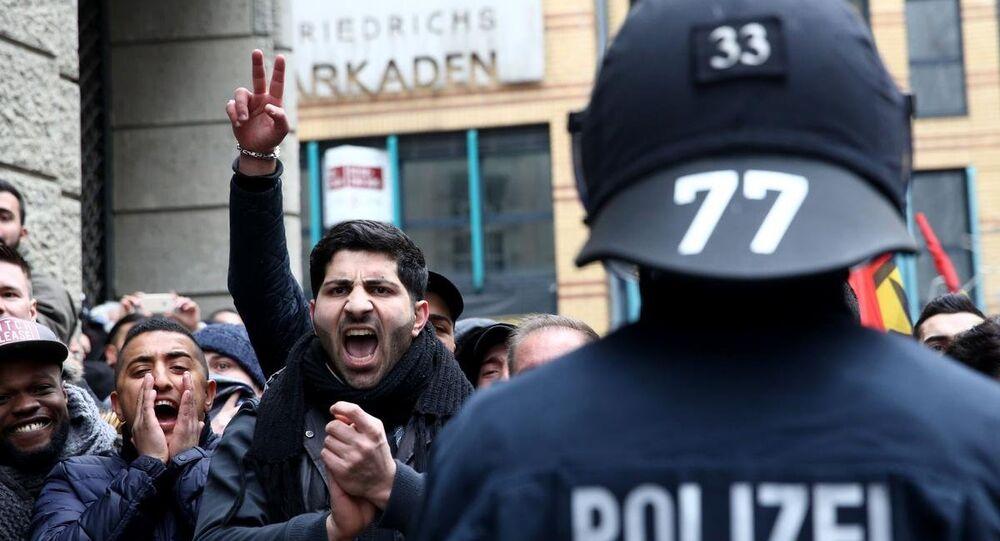 Almanya'da işsizlik protestoları