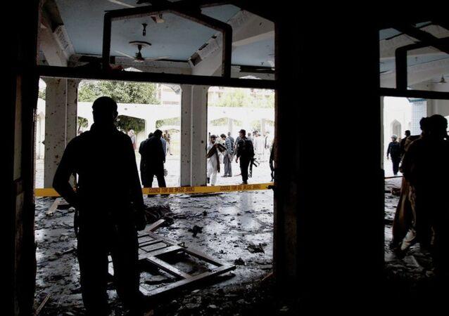 Pakistan kilise bombalısaldırı