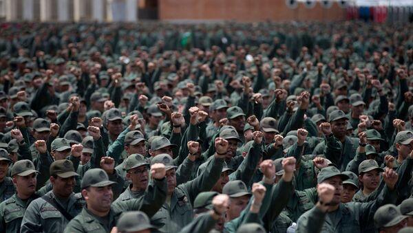 Venezüella ordusu - Sputnik Türkiye