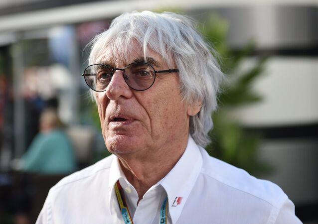 Formula 1 Başkanı Bernie Ecclestone
