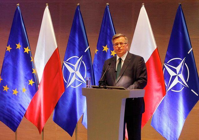 Polonya Devlet Başkanı Bronislaw Komorowski