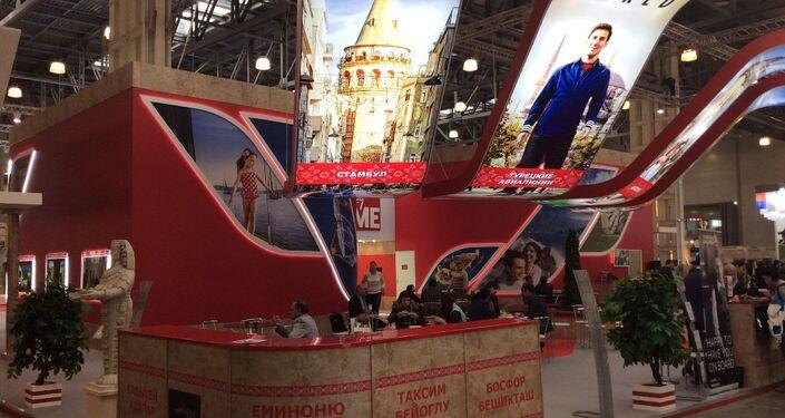 Türkiye, MITT Moskova Seyahat ve Turizm Fuarı'nda ilk kez düzenlendiği yıldan bu yana Kültür ve Turizm Bakanlığı tarafından aralıksız temsil ediliyor