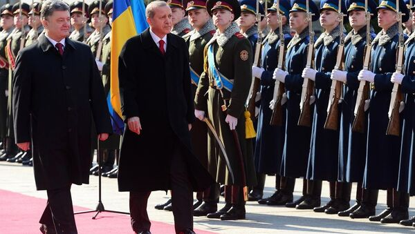Cumhurbaşkanı Recep Tayyip Erdoğan Ukrayna'da - Sputnik Türkiye