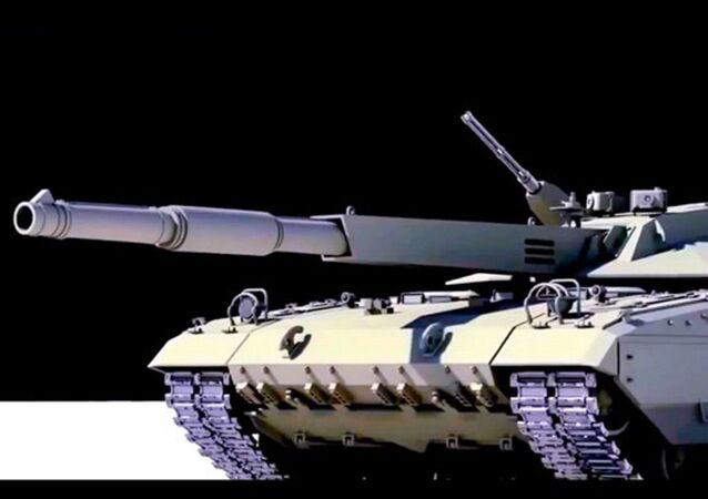 Russia'nın T-14 Armata Ana Muharebe Tankı (Youtube videosundan bir kesit, temsili resim)