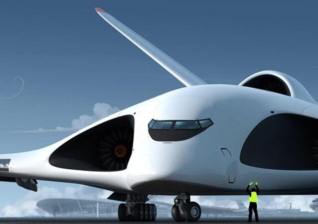 Rusya'nın özel amaçlı yeni kuşak hava aracı temsili resmi