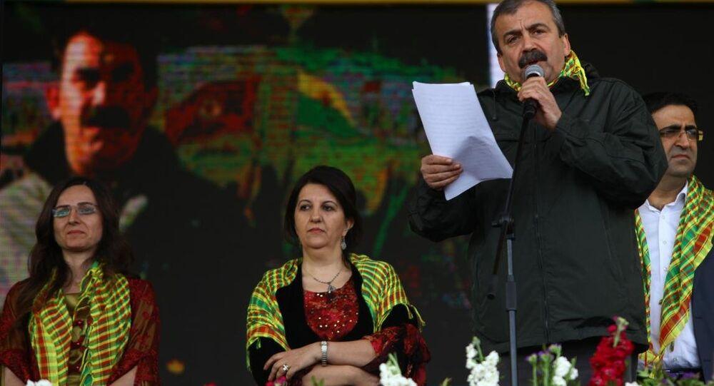 Sırrı Süreyya Önder, Abdullah Öcalan'ın mesajını okudu