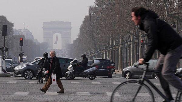 Paris hava kirliliği - Sputnik Türkiye