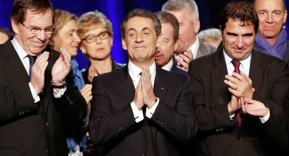 Fransa'da UMP lideri Nicholas Sarkozy