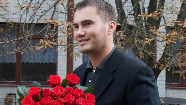 Ukrayna'nın devrik lideri Viktor Yanukoviç'in kendisiyle aynı adı taşıyan oğlu Viktor Yanukoviç - Sputnik Türkiye