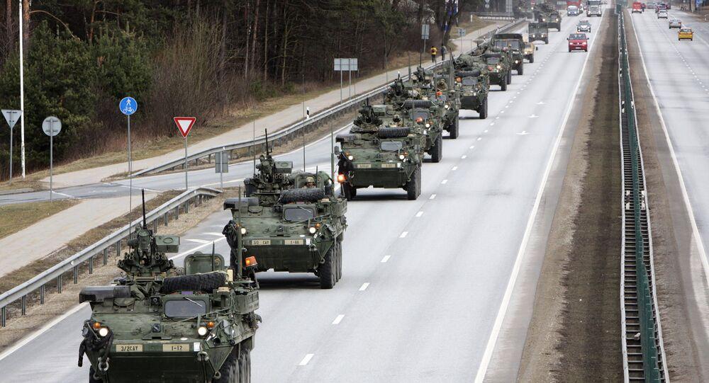 ABD'nin 'Dragoon Ride' konvoyu