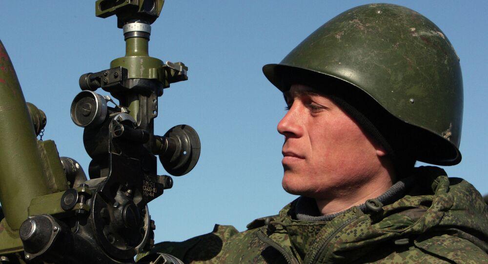 Rus ordusunun tatbikatını