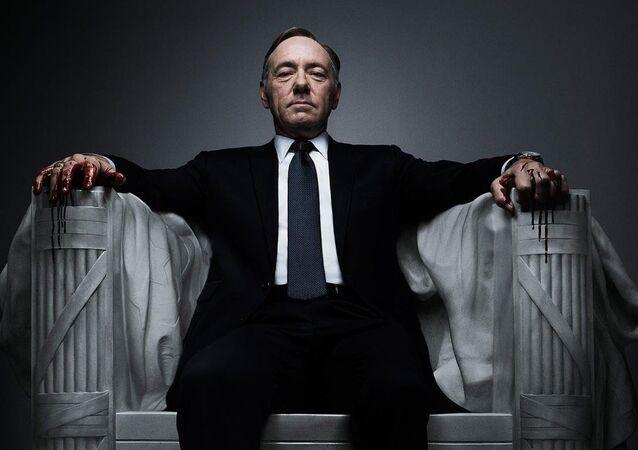 House of Cards dizisinde Kevin Spacey'nin hayat verdiği ABD Başkanı Frank Underwood
