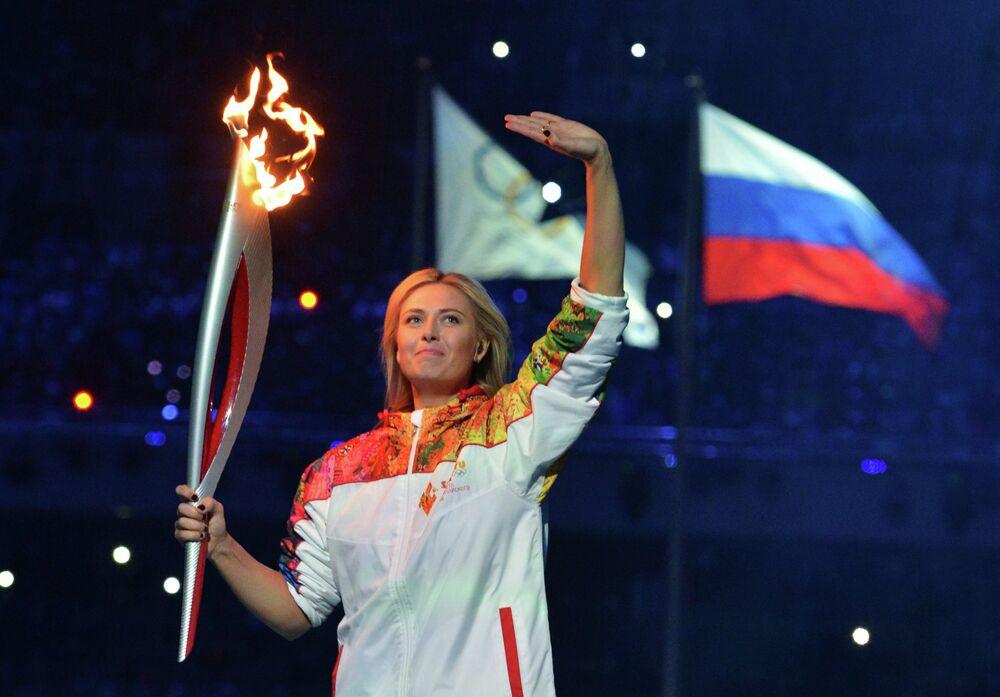 Rus tenisçi Maria Şarapova
