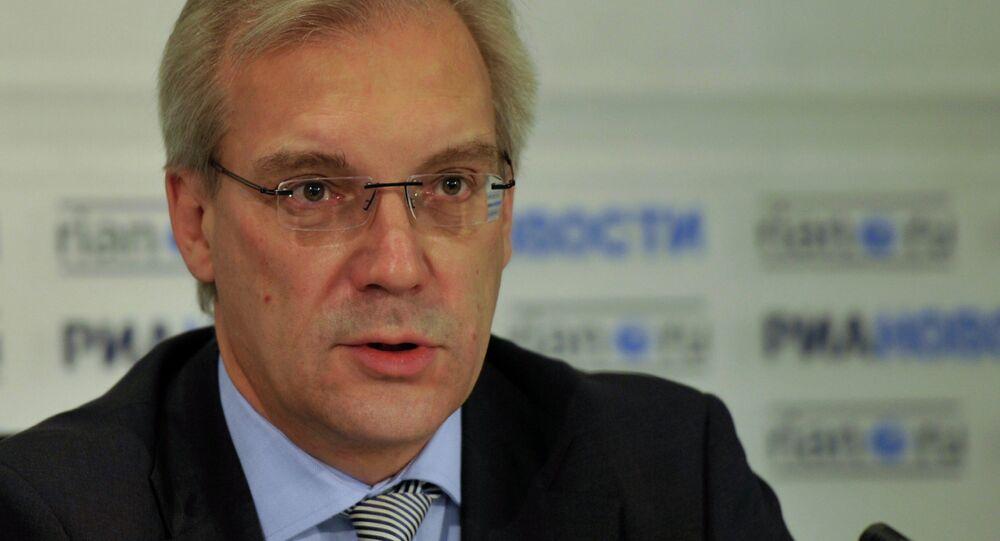 Rusya'nın NATO Daimi Temsilcisi Aleksandr Gruşko