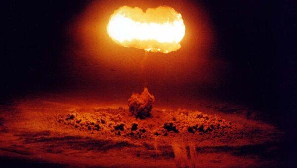Nükleer patlama - Sputnik Türkiye