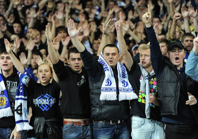 Dinamo Kiev taraftarları