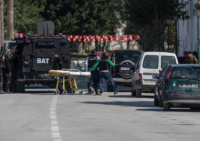 Tunus'un Gafsa kentinde düzenlenen operasyonda, Bardo Müzesi'ne yönelik geçen hafta gerçekleştirilen saldırının planlayıcısı Ebu Sakhar'ın öldürüldüğü öne sürüldü.
