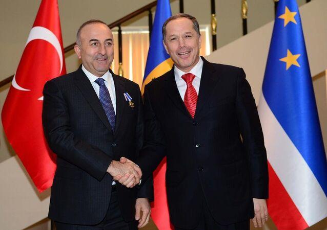 Mevlüt Çavuşoğlu, Gagavuzya'da