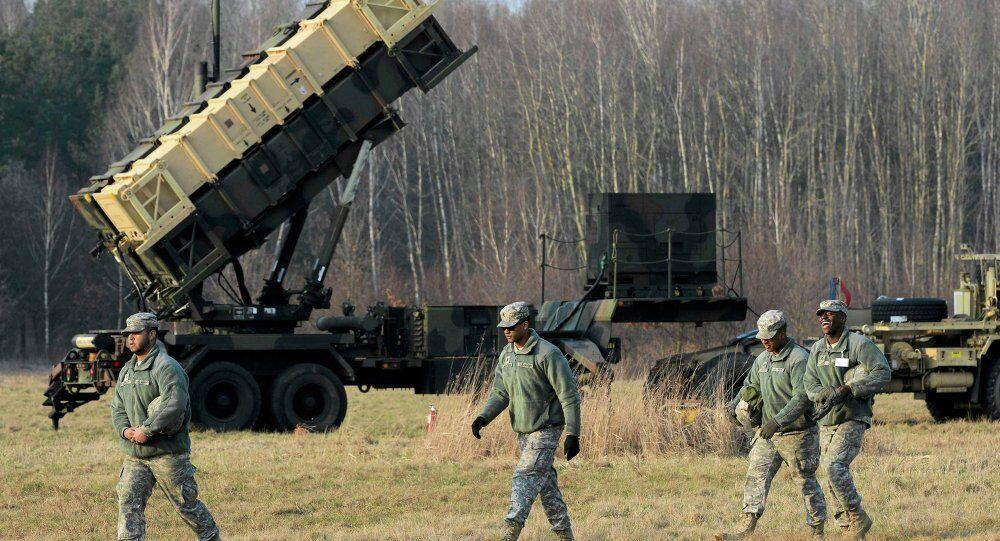 Patriot füze savunma sistemi