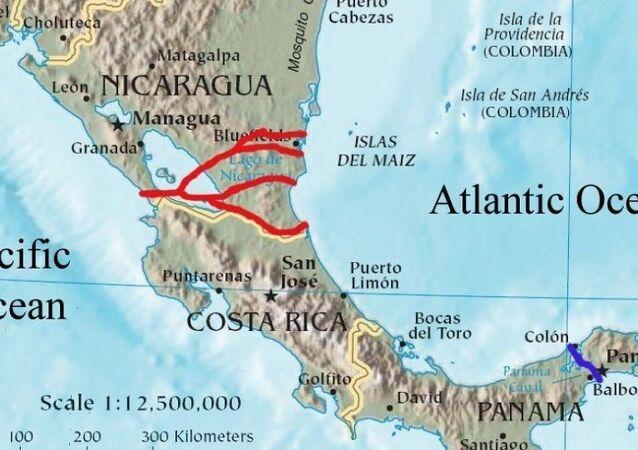 Nikaragua Kanalı