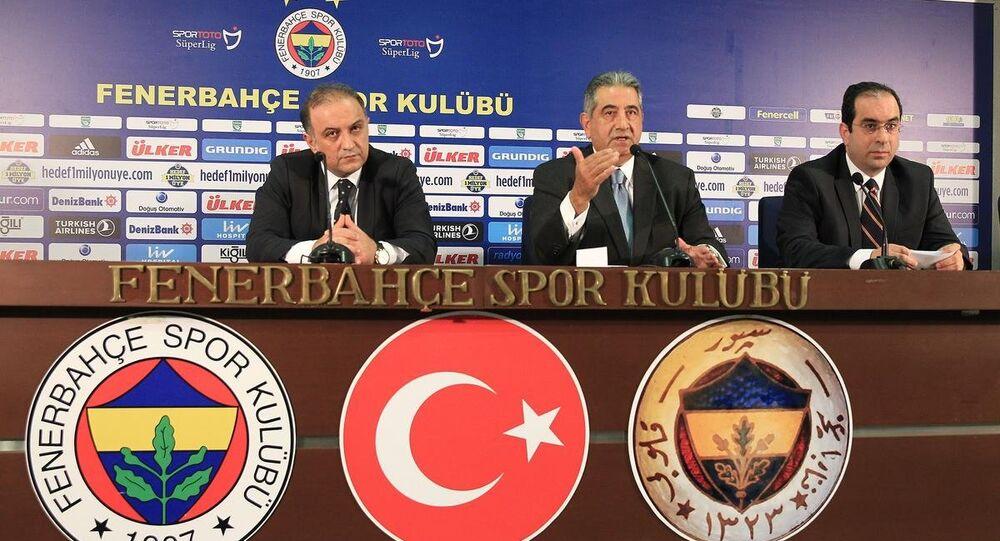 Fenerbahçe Basın Toplantısı