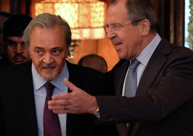 Lavrov ve Prens Suud El Faysal