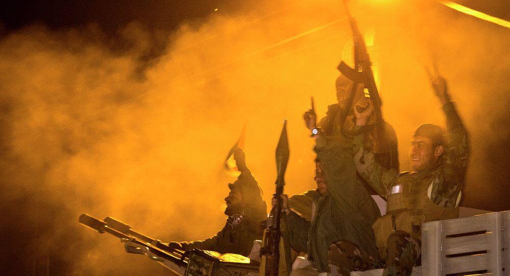 Kürt Peşmerge güçleri