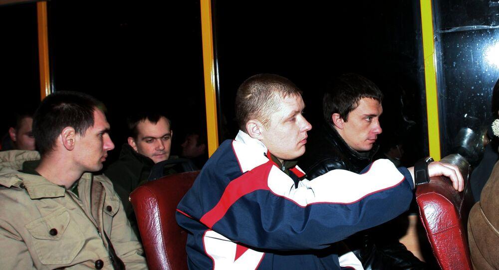 Donetsk 16 Ukraynalı tutsağı iade etti.