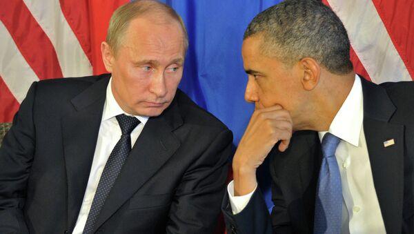 Vladimir Putin & Barack Obama - Sputnik Türkiye