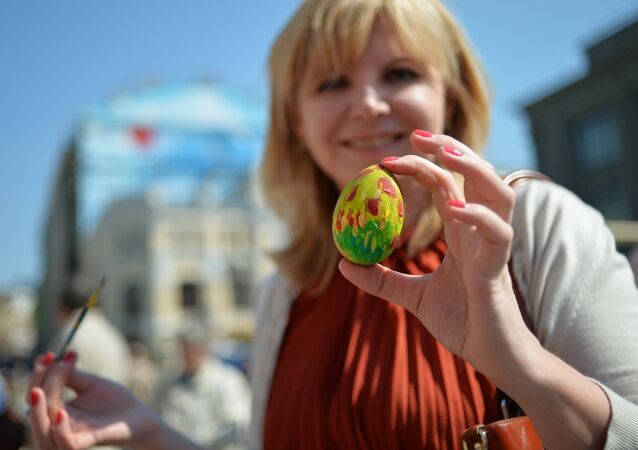 Moskova'da Paskalya festivali