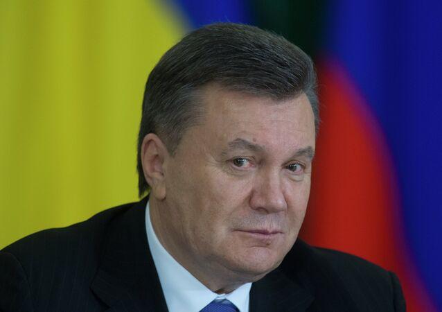 Ukrayna'nın eski Devlet Başkanı Viktor Yannukoviç