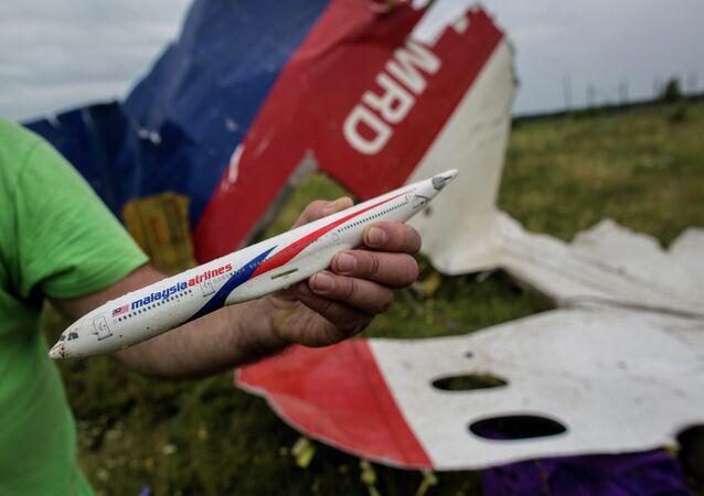 Düşen Malezya uçağı