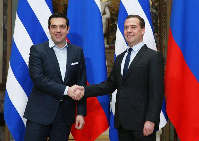 Aleksis Çipras-Dmitriy Medvedev