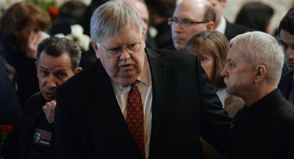 ABD'nin Rusya Büyükelçisi John Tefft