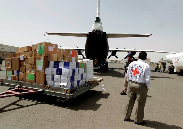 Yemen için insani yardım