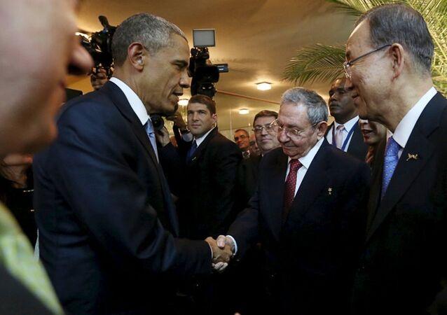 Obama ve Castro