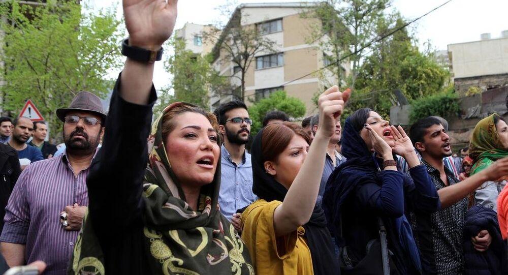 Suudi Arabistan, İran'da protesto edildi