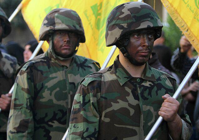 Lübnan Hizbullah savaşçıları