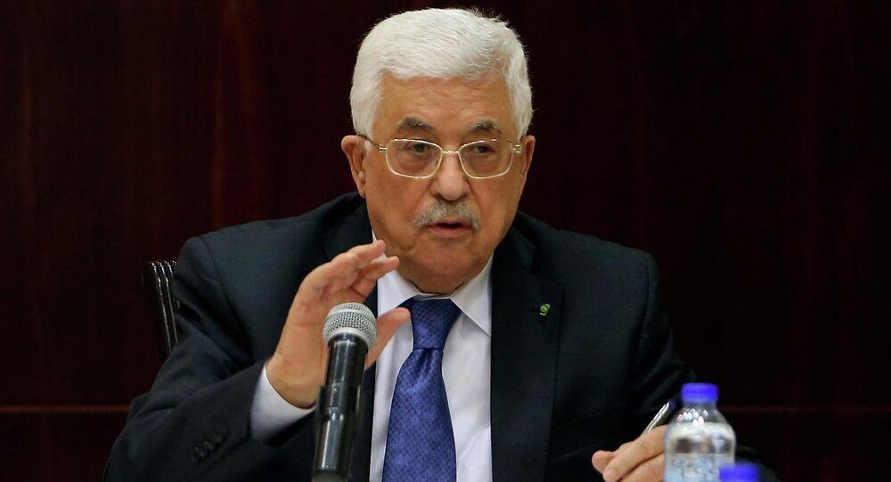 Filistin yönetimi lideri Mahmud Abbas
